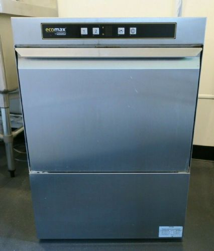 Hobart Ecomax F504 500mm 18 Plate Commercial Under Counter Dishwasher F504-20B